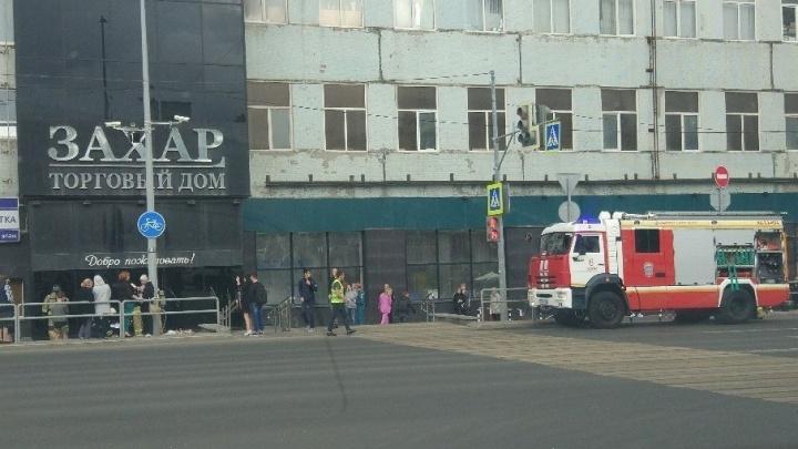 В Самаре эвакуировали посетителей из торгового дома «Захар»