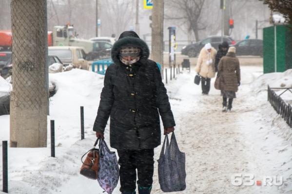 Холода задержатся в Самарской области до конца недели