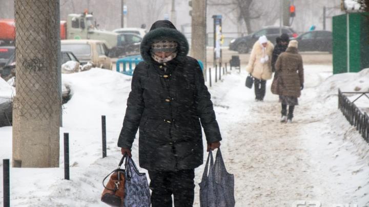 Мартовские морозы в Самарской области бьют рекорды