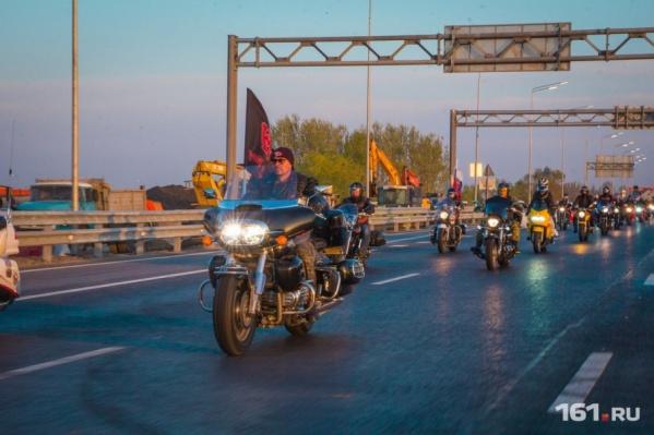 В акции приняли участие как российские, так и иностранные мотоциклисты