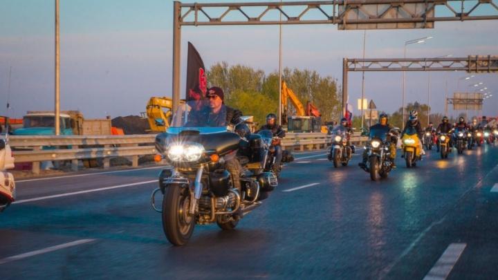 По дороге на Берлин: «Ночные волки» заехали в Ростов, чтобы почтить погибших в Великой Отечественной