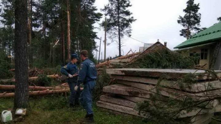 Правительство Поморья: пострадавшие от урагана котельные в Карпогорах восстановят к 1 сентября