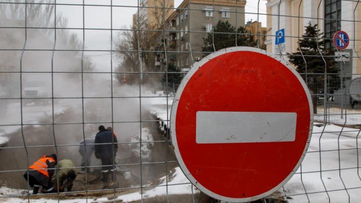 Улица Пушкина в центре Волгограда спустя неделю вновь стала двусторонней