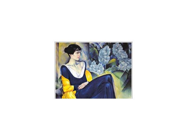 Портрет Анны Ахматовой работы Натана Альмана. Источник: Wikipedia