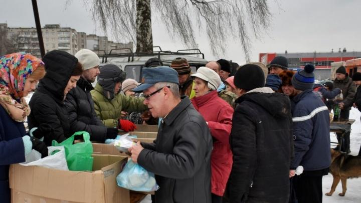 Ярославцы собрали новогодние подарки для бездомных