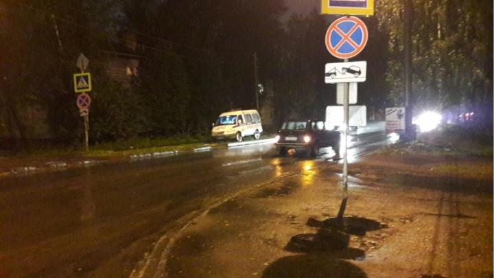 В Октябрьском округе водитель «Нивы» сбил 15-летнего подростка
