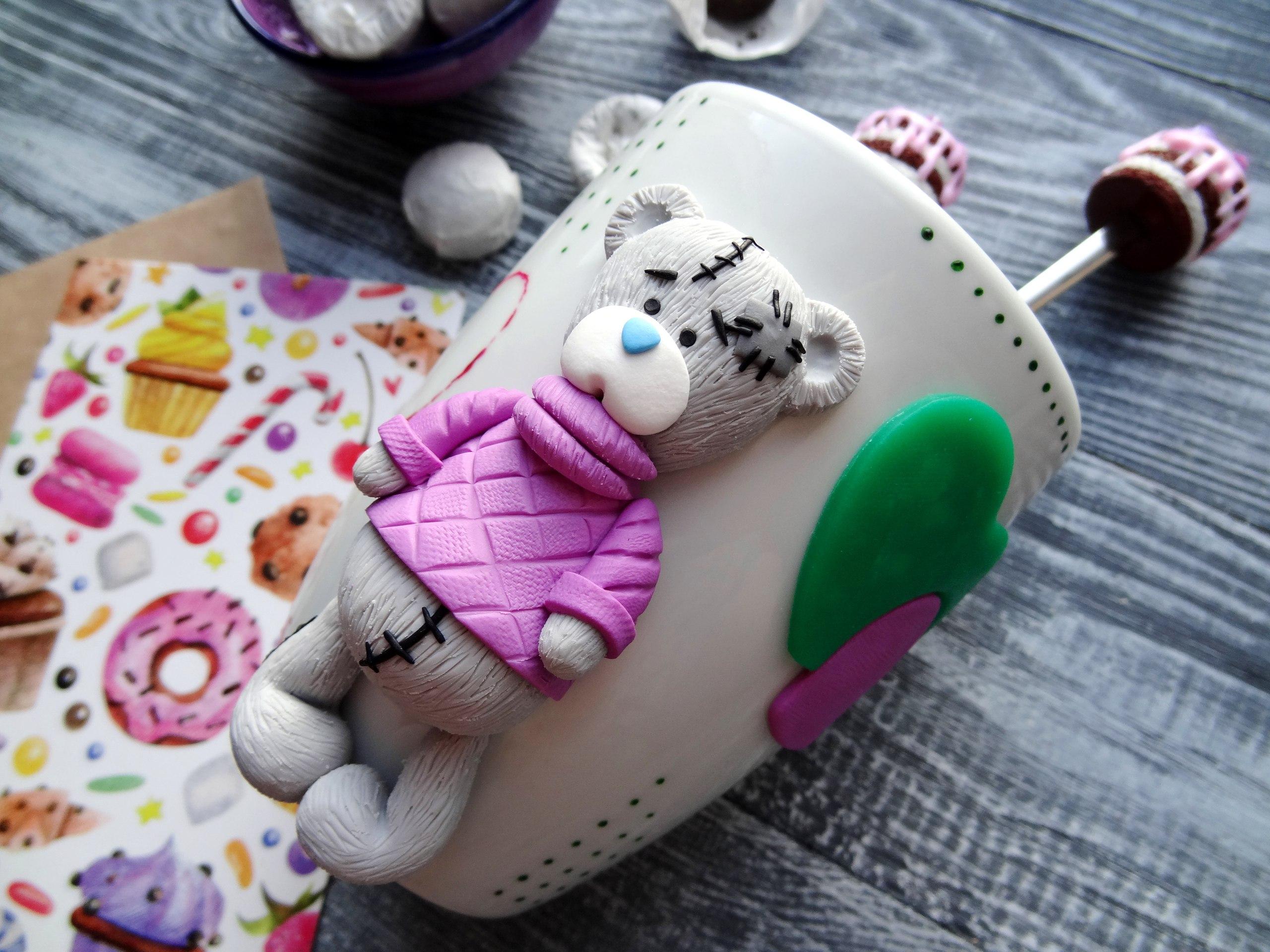 Любимые фигурки Ольги – мишки и зайки