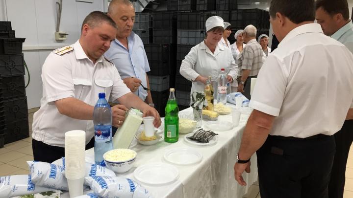 Молочный цех открылся в исправительной колонии в Ростовской области