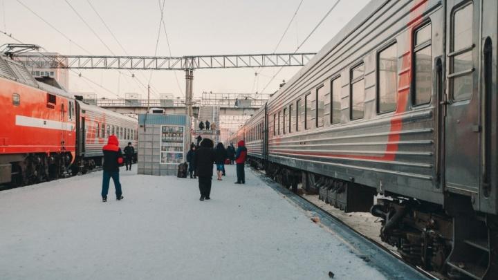 На тюменском ж/д вокзале появится крытый пешеходный переход