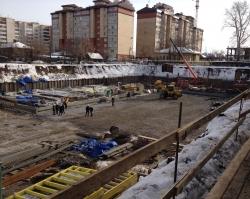 ЖК «Аристократ» – на стройплощадке ведутся фундаментные работы