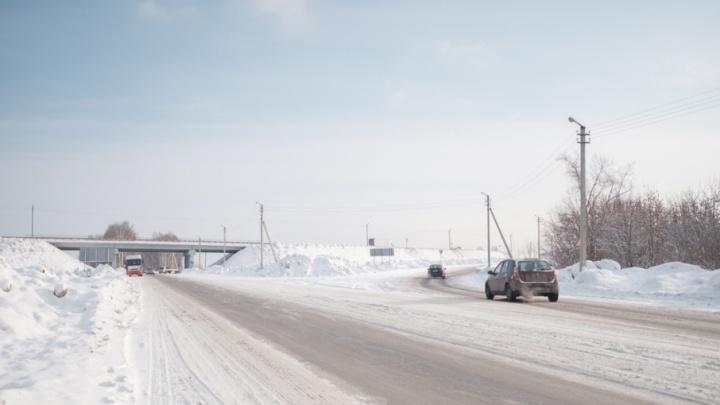 В Прикамье ищут очевидцев аварии на трассе Пермь — Екатеринбург, где машина насмерть сбила пешехода