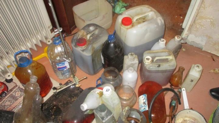 Силовики накрыли подпольную лабораторию по производству наркотиков в Тольятти