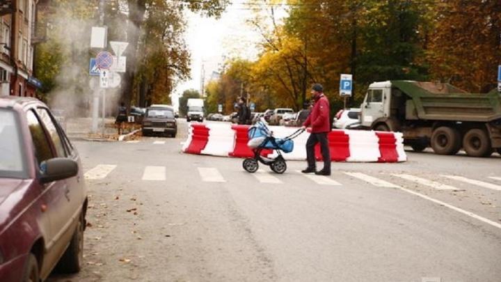 В Мотовилихинском районе появился новый перекресток с круговым движением