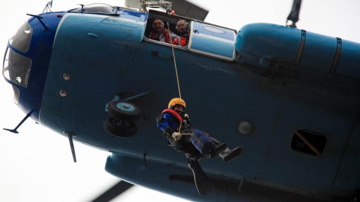 В районе острова Мудьюг развернулась спасательная операция