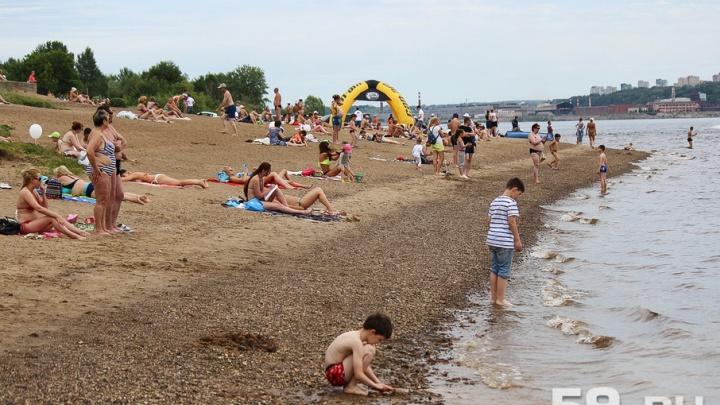 Началась подготовка к пляжному сезону: в Каме и Мотовилихинском пруду взяли пробы воды