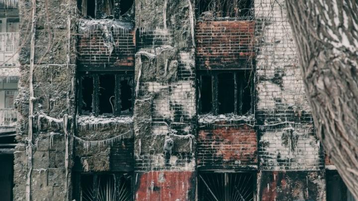 Сгоревшую девятиэтажку на Олимпийской восстановят за счет городского бюджета