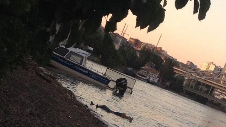 Недалеко от главного ростовского вокзала в реке нашли тело неизвестного мужчины