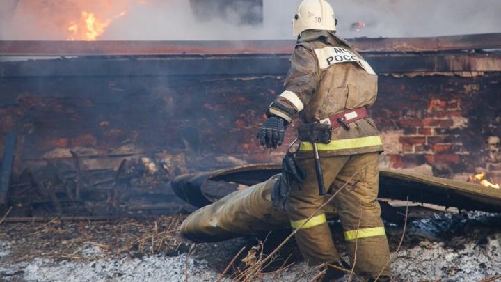 В Кировском районе Волгограда заживо сгорел молодой мужчина