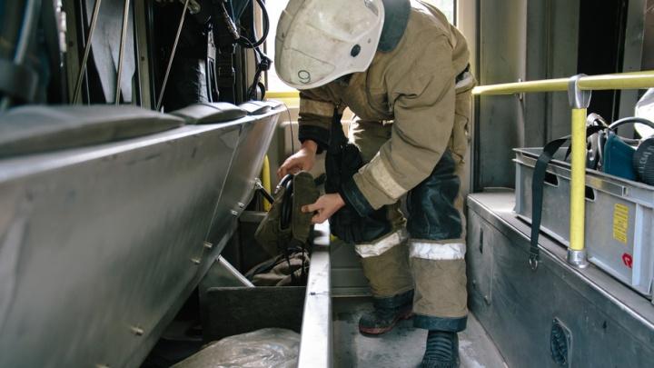 В Самаре в многоэтажке на Гагарина горел лифт