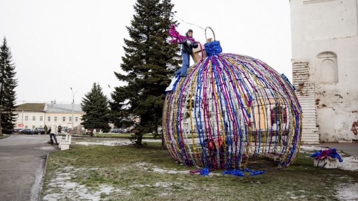Зелёный декабрь: под Новый год Ярославль лишился снега