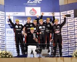 Команда G-Drive Racing одержала абсолютный триумф в Бахрейне