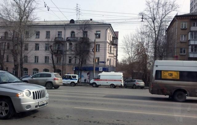 Росгвардия и полиция оцепили четырёхэтажное здание в центре Челябинска