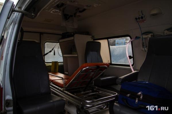 С травмами пострадавших госпитализировали в медучреждение