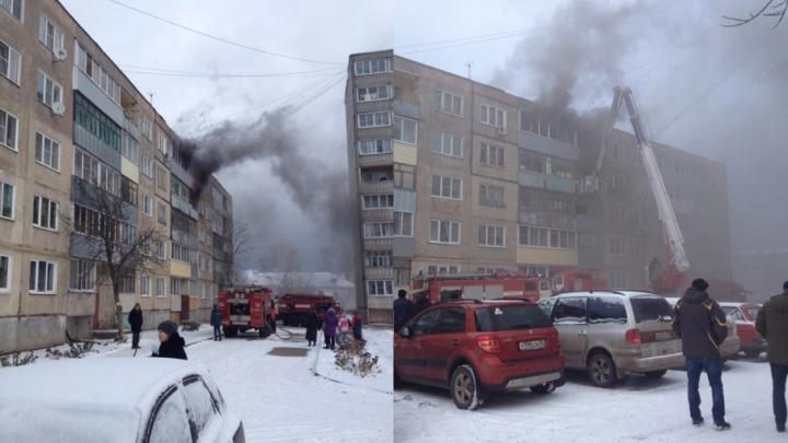 Горело с двух сторон: в Рыбинске полыхал жилой дом