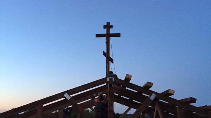 Архангелогородцы поучаствовали в возрождении храма Лазаря в Шенкурском районе
