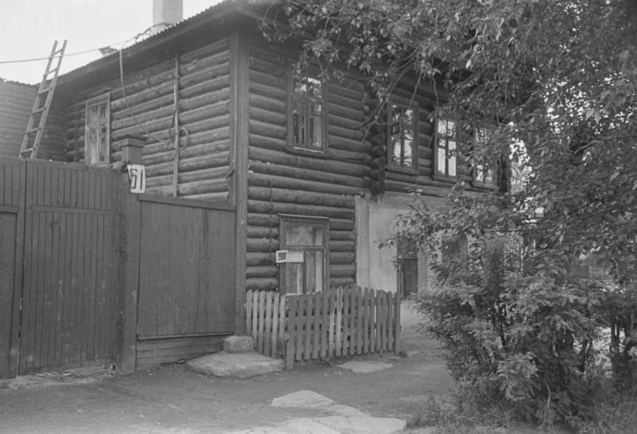 Дом Громашевой на улице 9 Января.