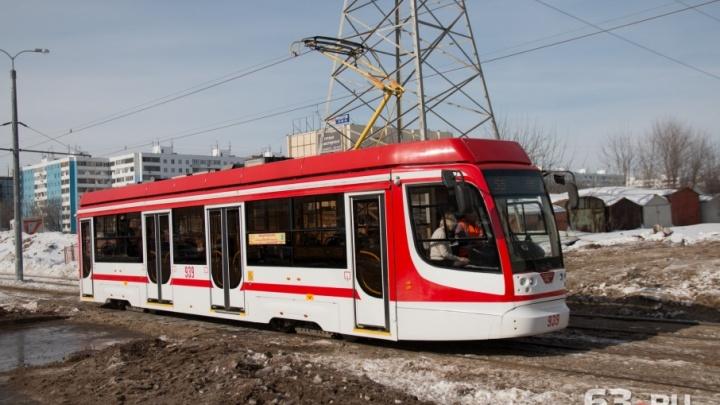 Вдоль трамвайной линии до стадиона «Самара Арена» установят видеокамеры