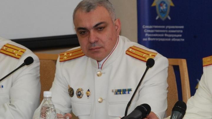 Замруководителя СУ СКР по Волгоградской области Армен Енокян ушёл на пенсию