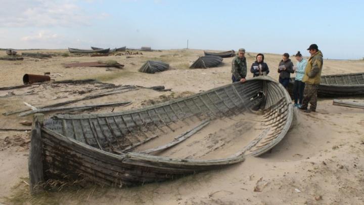 «Вечная стоянка» поморских карбасов в Яреньге превратится в экскурсионный маршрут