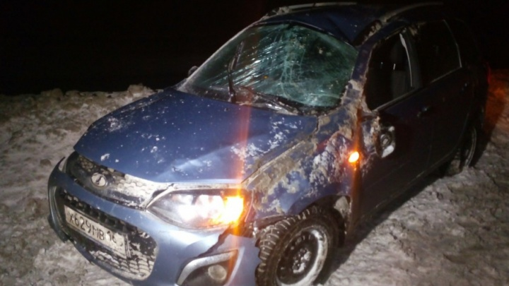 Под Тольятти водитель собирал документы и попал под машину