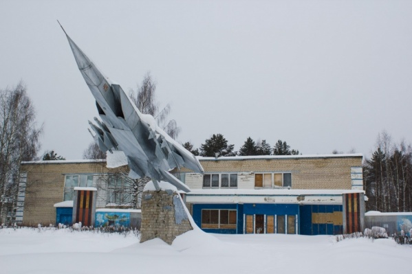 До 2009 года здесь базировался авиационный полк