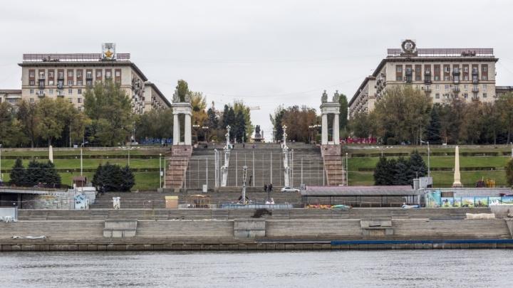 На Центральной набережной Волгограда нашли места под деловую застройку