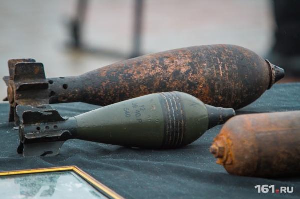 Снаряды находят по всей территории региона: раньше здесь проходили сражения