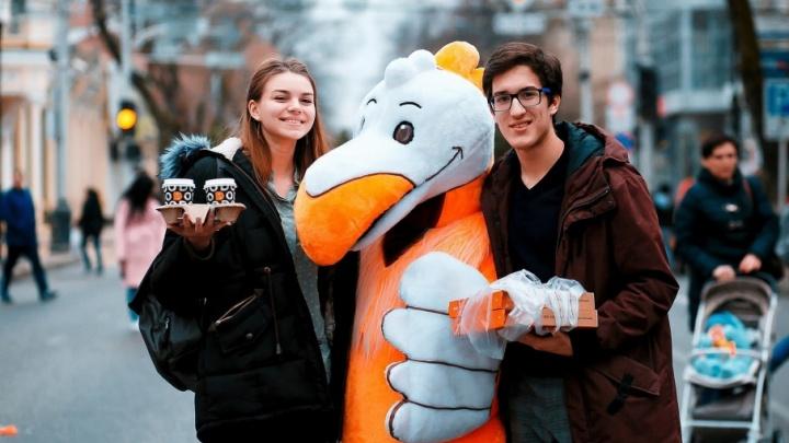В Волгограде будет поставлен рекорд по продаже пиццы: 7000 штук по 100 рублей