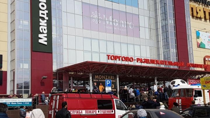 Посетителей эвакуировали: пожарная сигнализация в ТЦ «Вива Лэнд» сработала из-за пыли