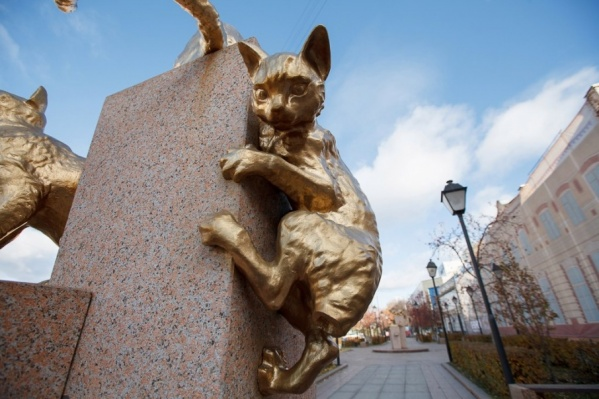 Памятники архитектуры, расположенные за сквером Сибирских кошек, находятся в частной собственности