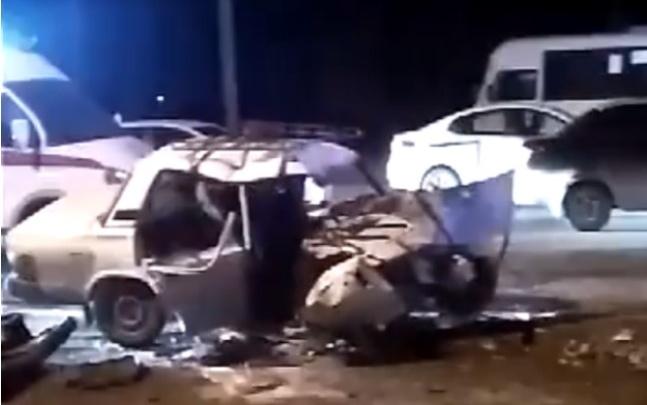 В Ростове произошло массовое ДТП: погибли отец и восьмилетний сын