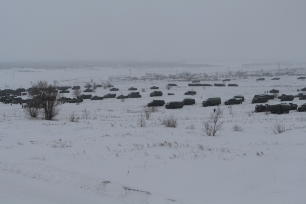 Марш-бросок в Оренбургскую область