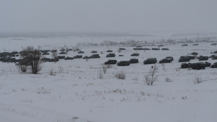 Самарских миротворцев из Рощинского подняли по тревоге