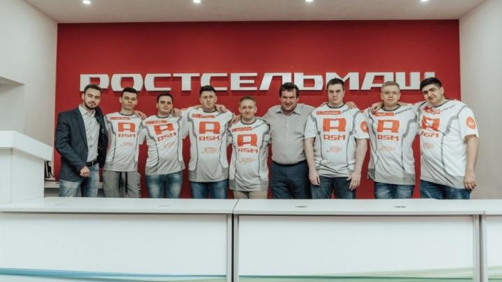 На старте киберсезона: участники команды ROSTSELMASH встретились оффлайн в Ростове