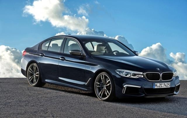 Новый BMW 5-й серии в М-СЕРВИС – пройди тест-драйв