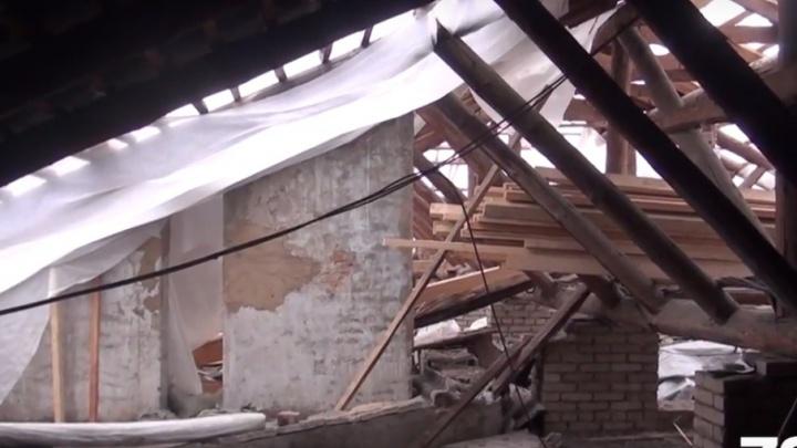 Во время капремонта крыш в Ярославле затопили с десяток домов