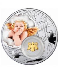 Татфондбанк представил новые серебряные монеты «Ангел на удачу»