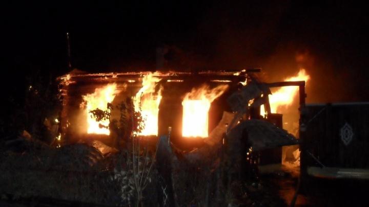 На Южном Урале при пожаре в частном доме погибла пенсионерка