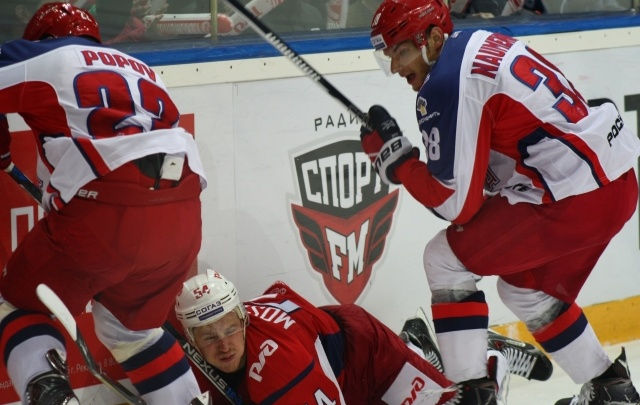 Сегодня «Локомотив» в Ярославле играет четвертый матч с ЦСКА