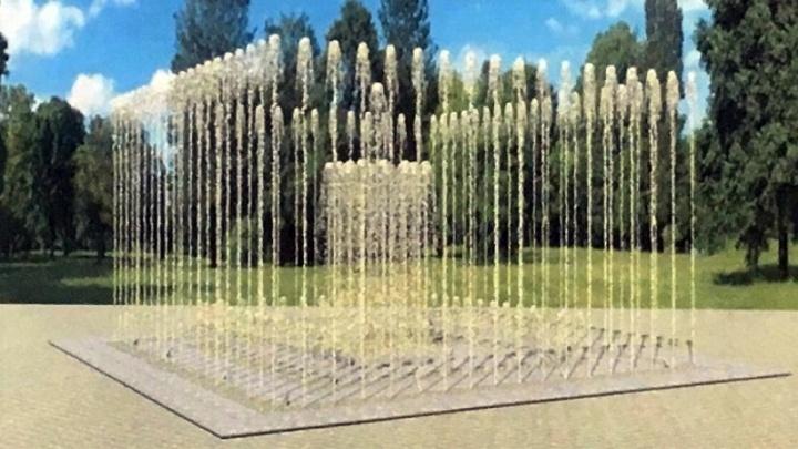 В Дзержинском районе Волгограда строят новый светодинамический фонтан
